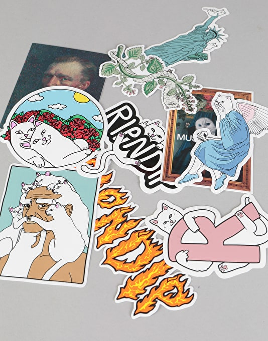RIPNDIP Sticker Pack (10)