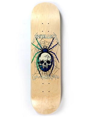 Lovenskate x Metallica Spider Ltd Deck - 8.25