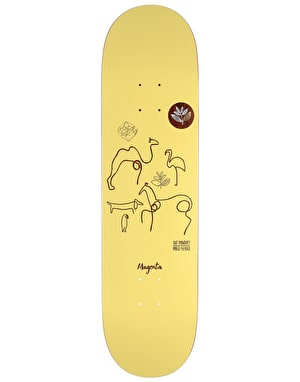 Magenta Panday Picasso Pro Deck - 8.25