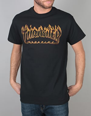 Thrasher Richter T-Shirt - Black