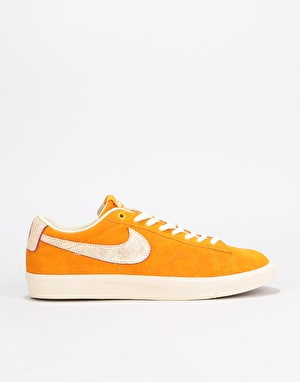 Nike SB Zoom Blazer Low GT QS Skate Shoes - Circuit Orange/Team Red