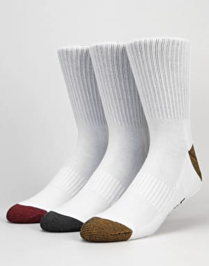 Globe Ingles Crew Socks - 5 Pack