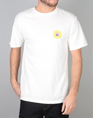 Stüssy Acid Drop Pigment Dyed T-Shirt - Natural