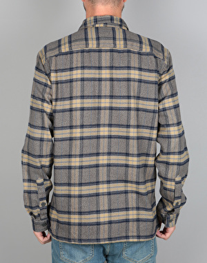 Patagonia Fjord Flannel Shirt - Migration Plaid/Forge Grey