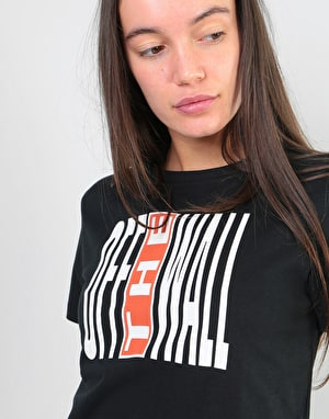 Vans Womens Legend Stamp Basic T-Shirt - Black