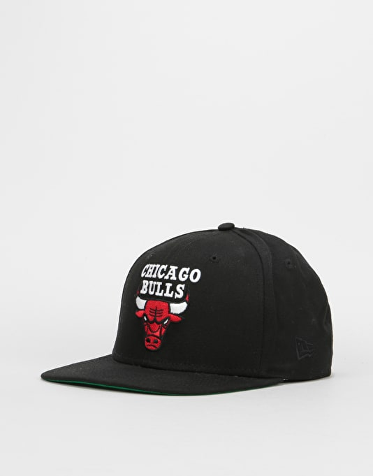 New Era 9Fifty NBA Chicago Bulls Classic Snapback Cap - Chicago Black