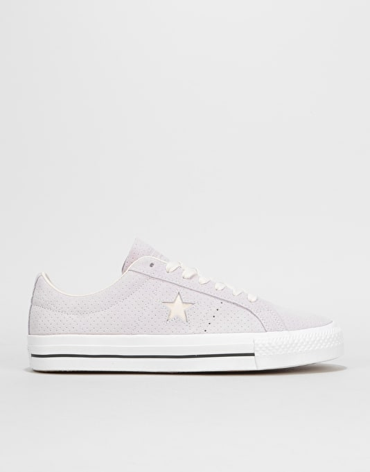 d974513ff2cb Converse One Star Pro Ox Skate Shoes - Barely Grape Driftwood White