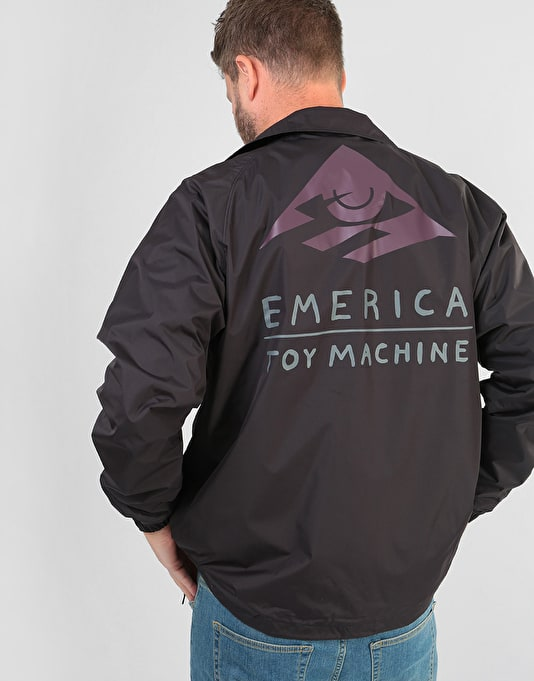 Emerica x Toy Machine Darkness Jacket - Black