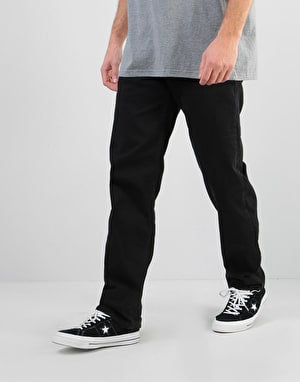 Route One Nineties Denim Jeans - Flat Black