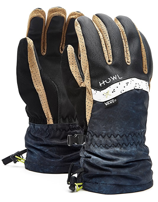 Howl x Vans 2018 Snowboard Gloves - Black