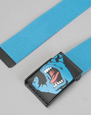 Santa Cruz Screaming Hand Belt - Blue