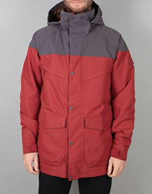 Burton Breach Insulated 2018 Snowboard Jacket - Fired Brick/Faded