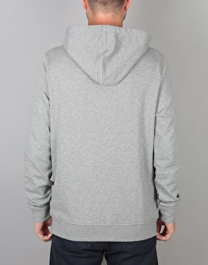 Poler Eye Patch Pullover Hoodie - Grey Heather