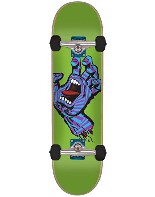 Santa Cruz Screaming Party Hand Complete Skateboard - 7.75""