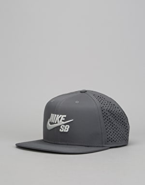 Nike SB Performance Trucker Cap - Dark Grey/Dark Grey/Black/Light Bone