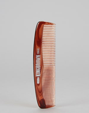 King Brown Tort Pocket Comb