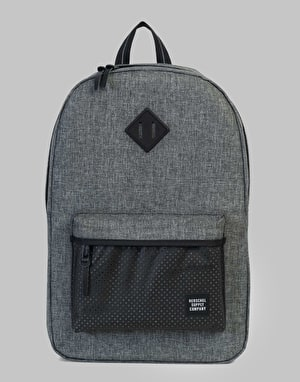 Herschel Supply Co. Heritage Backpack - Raven Crosshatch/Black Rubber