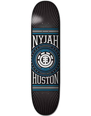 Element Nyjah Dialed Skateboard Deck - 8