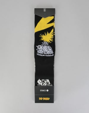 Stance Legends Of Punk Bad Brains Socks - Black
