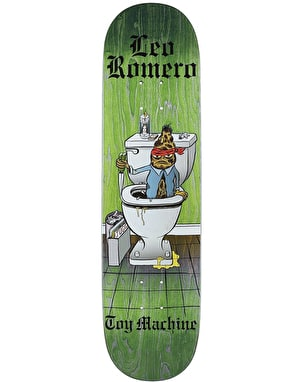 Toy Machine Romero Loco Skateboard Deck - 8.125