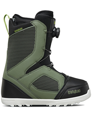 ThirtyTwo STW BOA® 2018 Snowboard Boots - Olive/Black