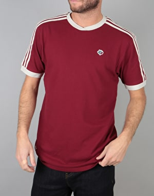 Adidas Magenta Jersey - Collegiate Burgundy/Brown