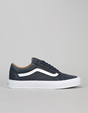 Vans Old Skool Skate Shoes - Parisian Night/True White