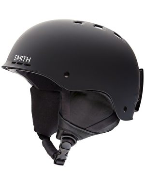 Smith Holt 2018 Snowboard Helmet - Matte Black