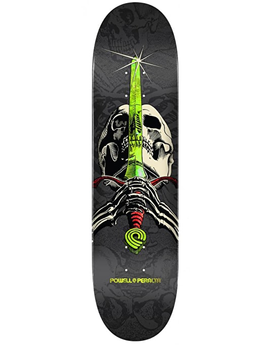 Powell Peralta Skull & Sword One Off Skateboard Deck - 7.88""