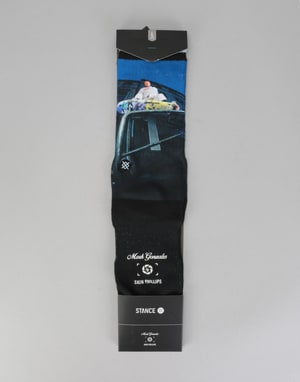 Stance x Skin Phillips Cologne Socks - Black