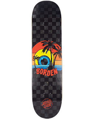 Santa Cruz Borden Sunset Pro Deck - 8