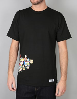 HUF x South Park Opening T-Shirt - Black