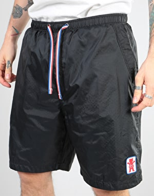 éS x Grizzly Backspin Shorts - Black