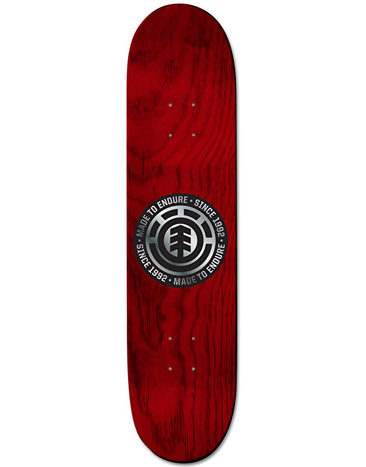 Element Nyjah Script 25 Year Collection Skateboard Deck - 8""