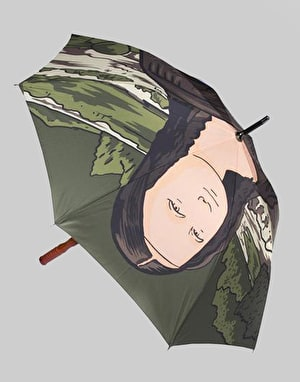 RIPNDIP Nermal Lisa Umbrella - Brown