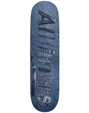 Alltimers Denim Logo Skateboard Deck - 8.25