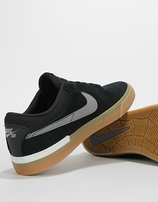 Nike SB Hypervulc Eric Koston Skate Shoes - Black/Gunsmoke-Vast Grey