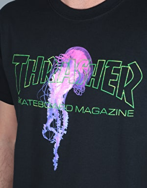 Thrasher x Atlantic Drift T-Shirt - Black
