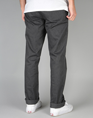 HUF Fulton Chino Pant - Charcoal Heather