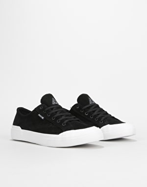 HUF Classic Lo Skate Shoes - Black/White