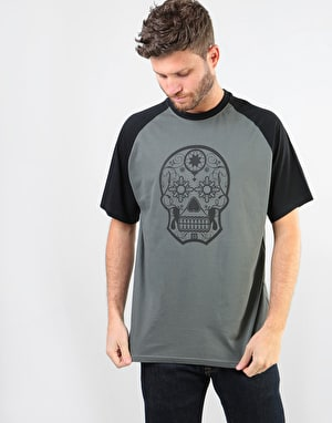 Original Calavera Reverse T-Shirt - Slate Grey/Black