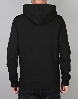 Hype Crest Pullover Hoodie - Black