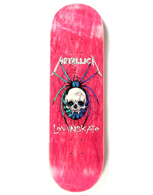 Lovenskate x Metallica Spider Ltd Deck - 8.8""