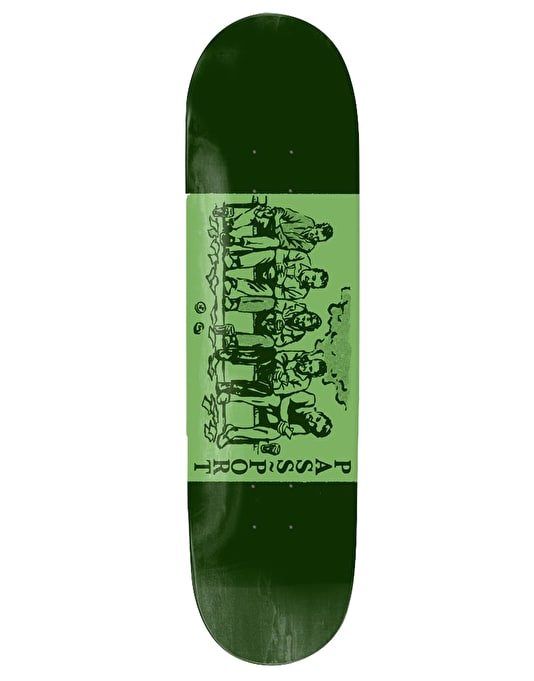 Pass Port Shady Scenarios - No Way Out Skateboard Deck - 8.125""