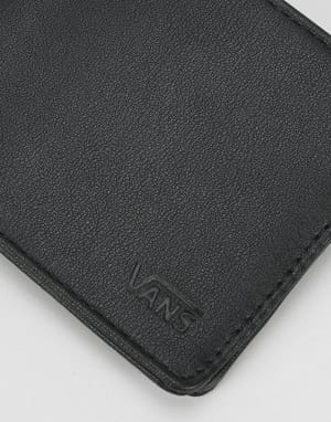 Vans Drop V Bi-Fold Wallet - Black