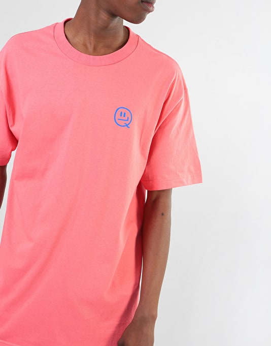 The Quiet Life x Will Bryant T-Shirt - Coral