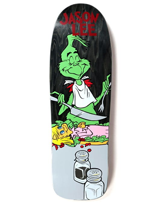 Prime Heritage Lee Grinch Feast OG Shape Skateboard Deck - 9.75""