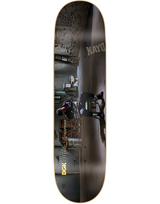DGK Desarmo Mobster Skateboard Deck - 8""