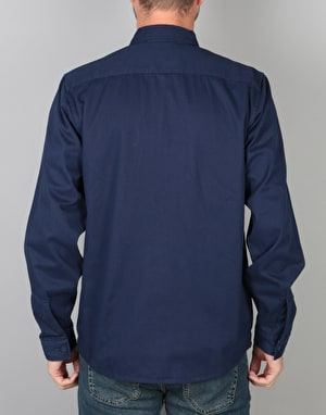 Dickies Avella L/S Shirt - Evening Blue