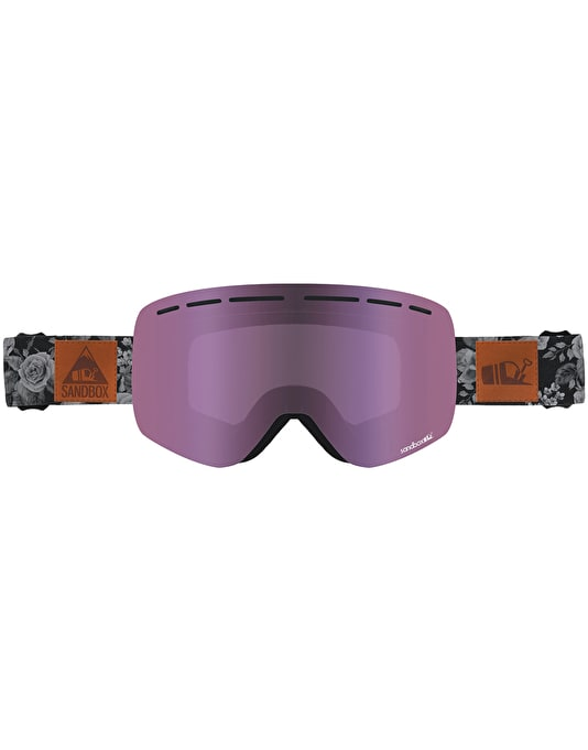 Sandbox The Kingpin 2019 Snowboard Goggles - Rose Camo